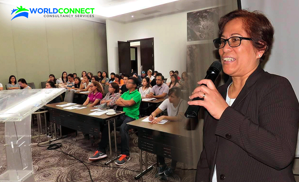 Licensed immigration advisers from WORLDCONNECT give free orientation and assessment in Davao
