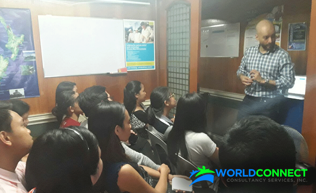 WORLDCONNECT meets healthcare and business professionals in Manila orientation
